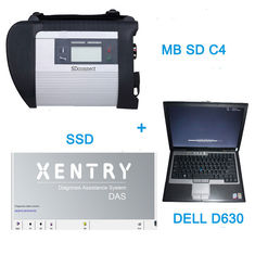 China V2016.7 MB SD C4 Star Auto Diagnostic Tools With  256GB SSD Plus DELL D630 Laptop supplier