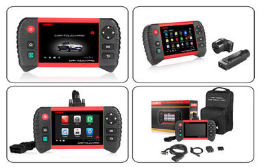 Launch Creader CRP Touch Pro Full System Diagnostic Service Reset Tool with BENZ/BMW Adapter