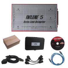 China Red Truck Diagnostic Tool Cummins INLINE 5 INSITE 7.62 Data Link Adapter supplier