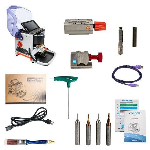 200W Automatic Key Cutting Machine Xhorse CONDOR XC-MINI Plus CONDOR XC-MINI II With 3 Years Warranty