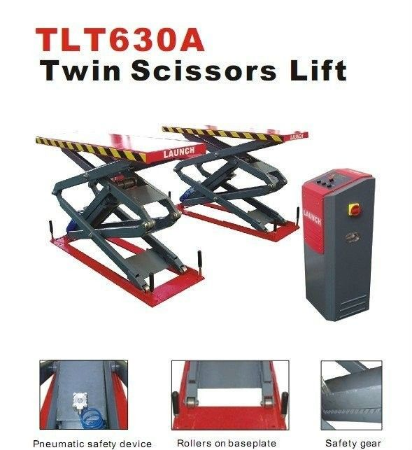 3T TLT630A Double Scissor Car Lift Auto Workshop Equipment